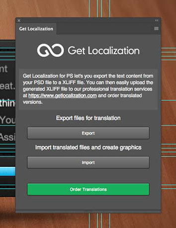 Get Localization for PhotoshopUpdated