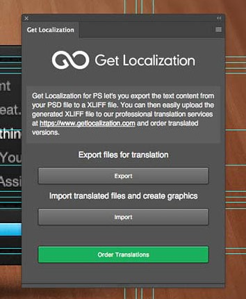 Get Localization for Photoshop Updated